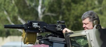 Боец АТО - Украина испытает на российских оккупантах новейшее оружие из США