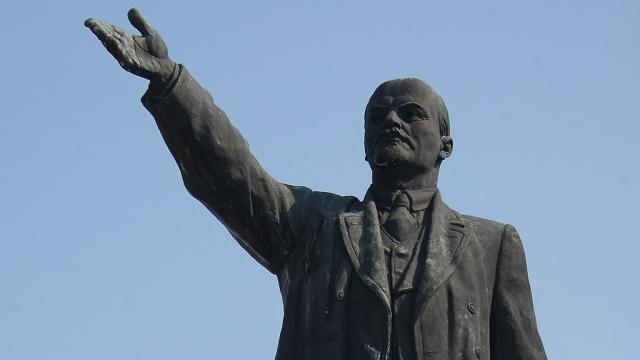 Ленинопад добрался и до Минска