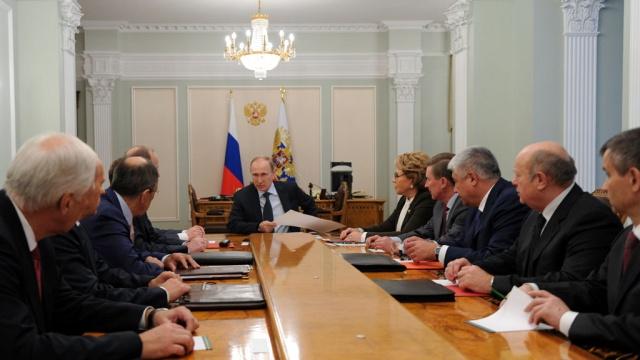Путин в срочном порядке созвал СовБез РФ по вопросу Украины