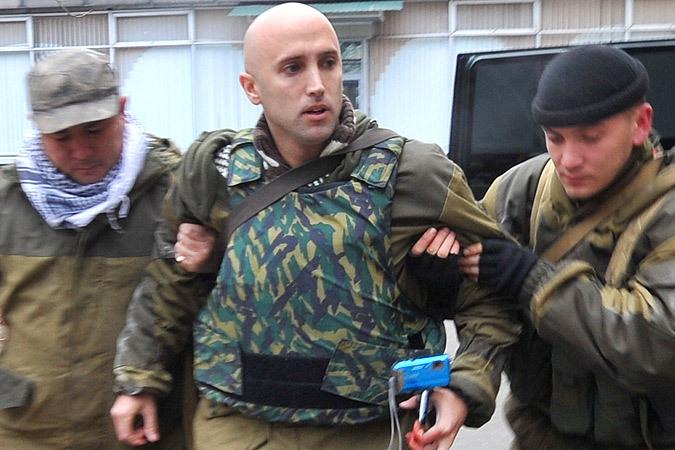 В Лондонском аэропорту задержали российского журналиста, который вместе с боевиками вел огонь по силам АТО