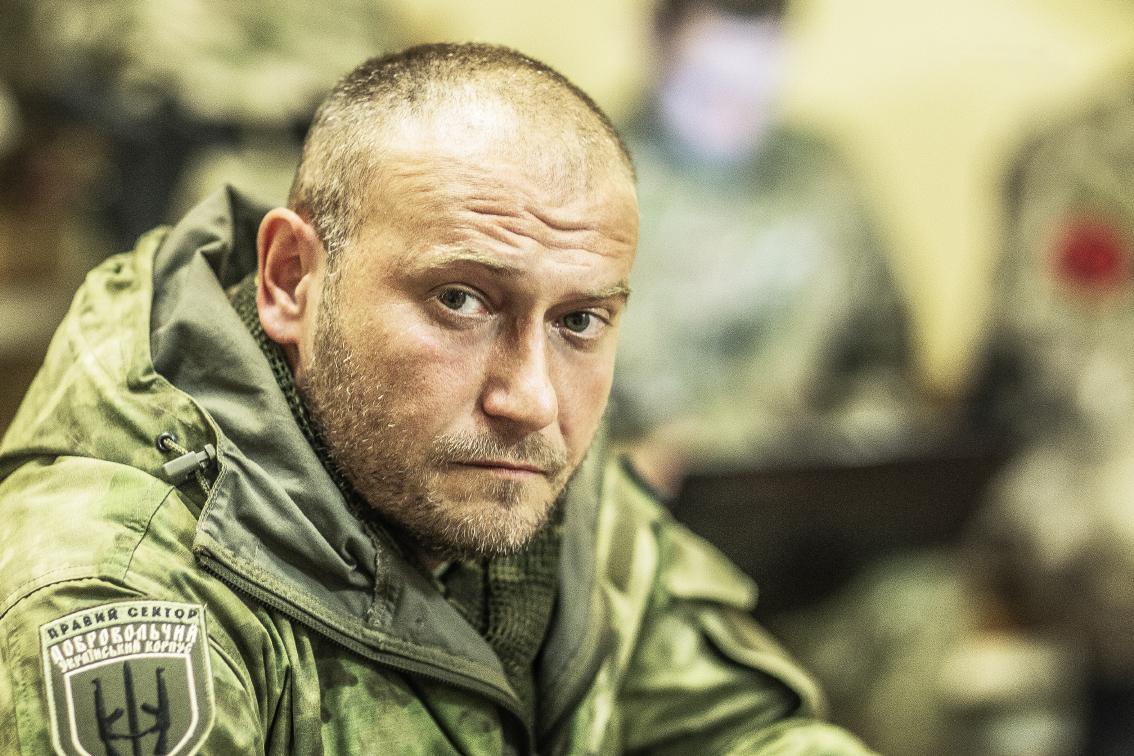 """Совершенно покушение на лидера """"Правого сектора"""" - Дмитрия Яроша"""