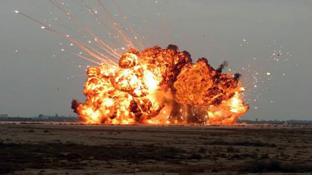 Под Ростовом прогремел ещё один взрыв боеприпасов. На этот раз тех что везли на Донбасс