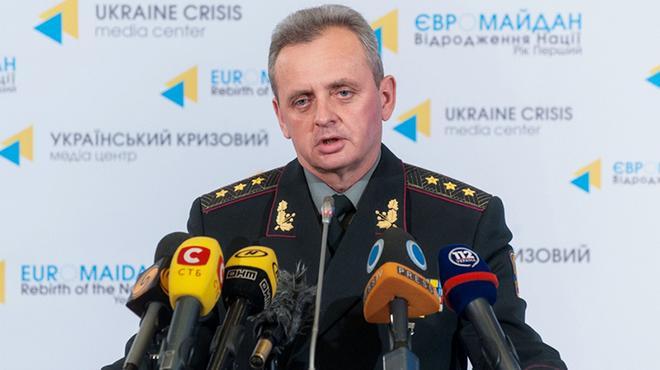 Начальник Генштаба ВСУ Виктор Муженко рассказал о наступлении которое готовят боевики под Донецком