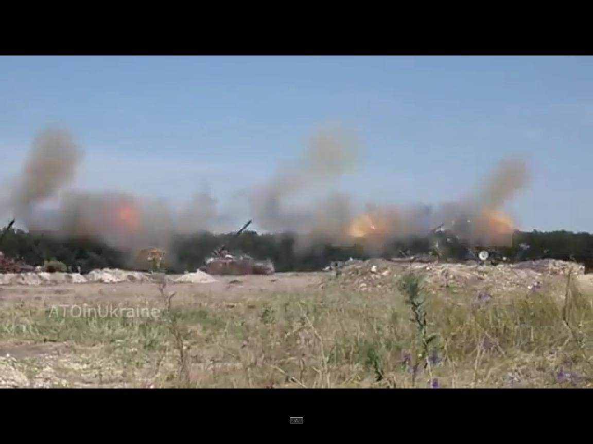 Реальный уровень работы по боевикам с артиллерии 2С7 «Пион» (ВИДЕО)