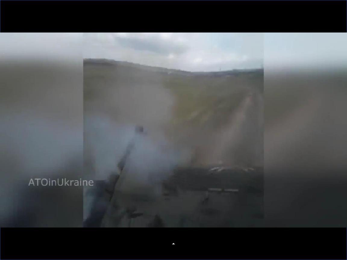 Бой возле Трехизбенки, ответка от ВСУ из 30 мм пушки БМП2 (ВИДЕО)