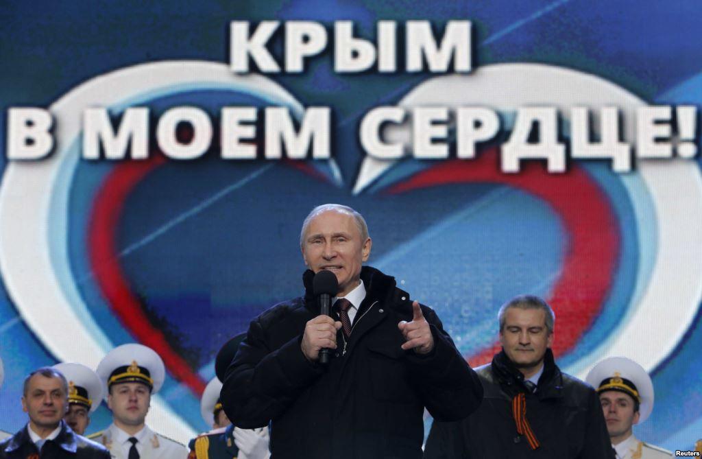 Новый визит главарей оккупантов Путина в Крым происходит на фоне огромного скандала у местных