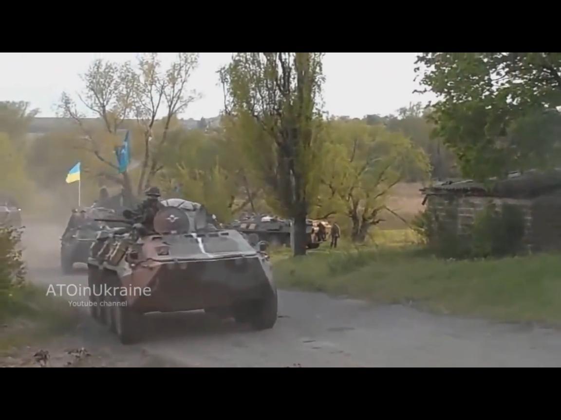Рейд-2 или реальные кадры боев во времена исторического рейда украинских десантников (ВИДЕО)