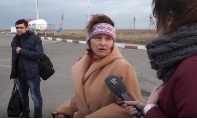Просили, вот вам и камни с неба! Реакция крымчан на отключение света (ВИДЕО)
