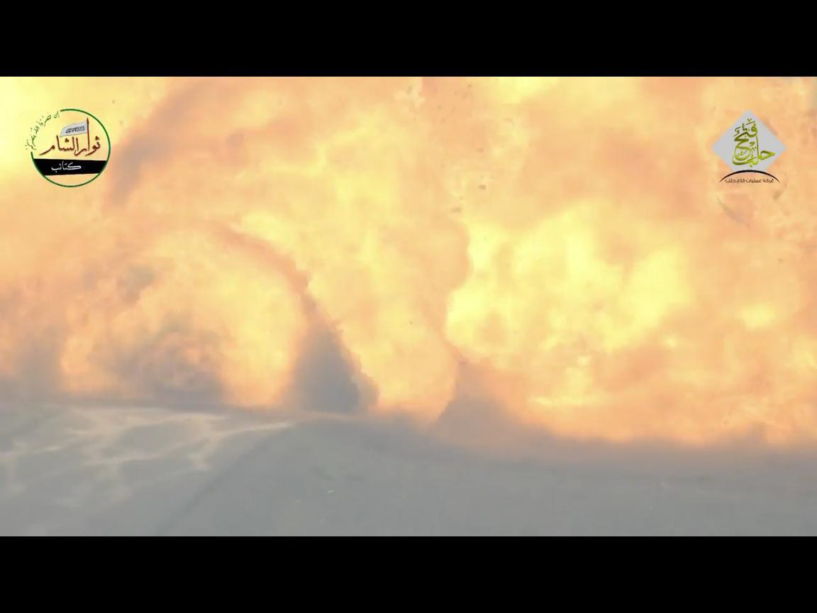 РАЗНЕСЛИ В КЛОЧЬЯ! Сирийские повстанцы выложили кадры уничтожения российского Т-90 (ВИДЕО)