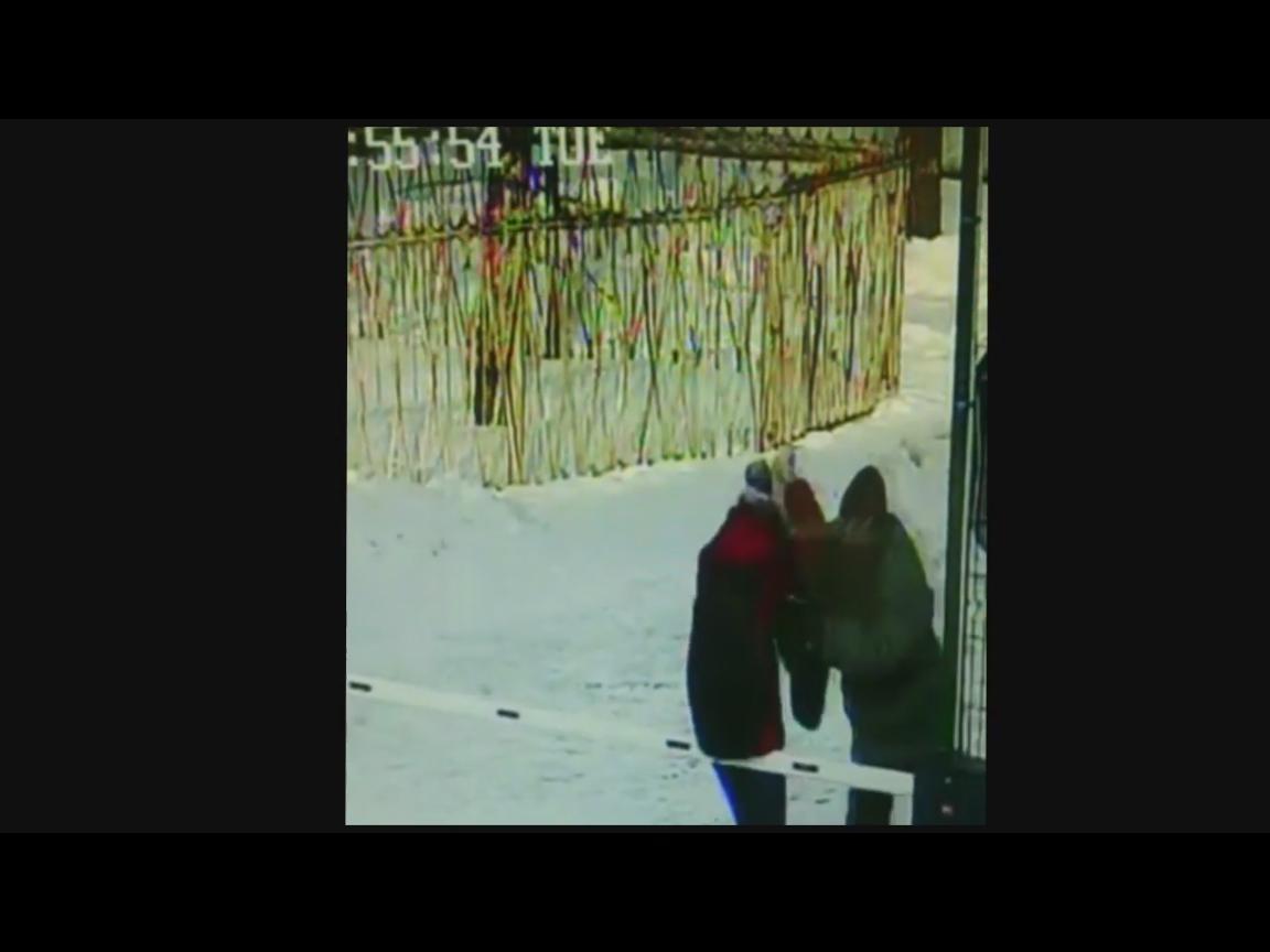 На России, мужчина сильно избил 12-ти летнюю школьницу, которому не понравился её спев, никто из прохожих не заступился (ВИДЕО)