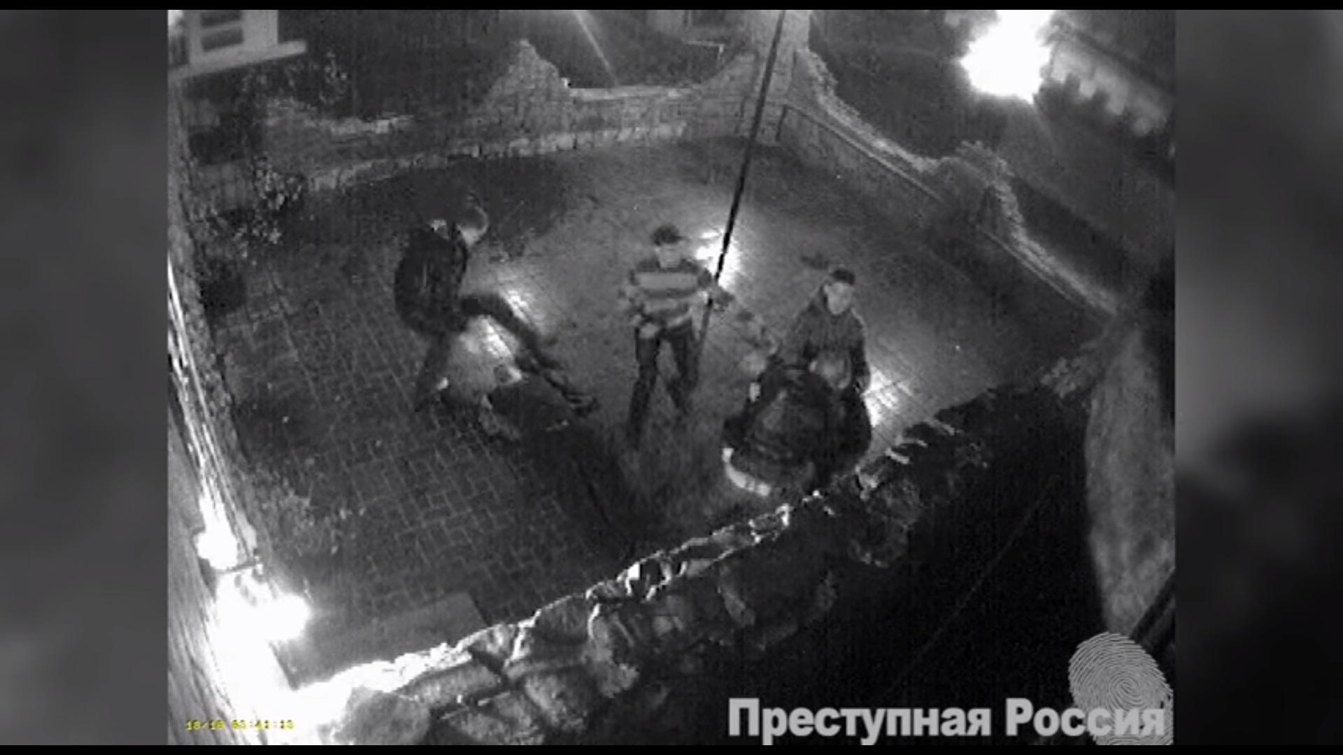Появилось видео, якобы избиения Олега Царева с товарищем в Москве