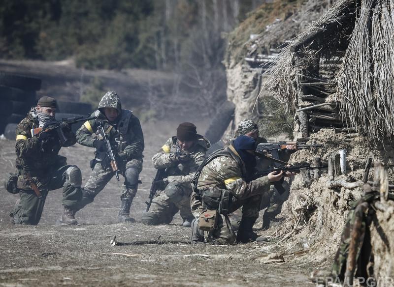 Бойцы ВСУ с боями но уверенно надвигается на Донецк