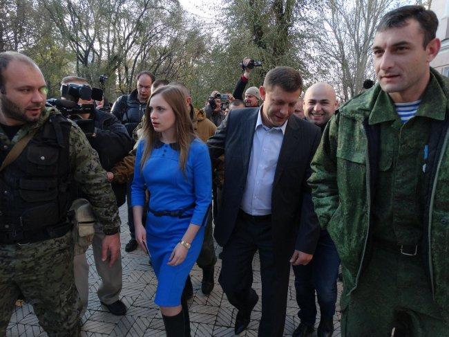 В оккупированном Донецке выстрелом в голову убили жену главаря террористов Захарченка - СМИ