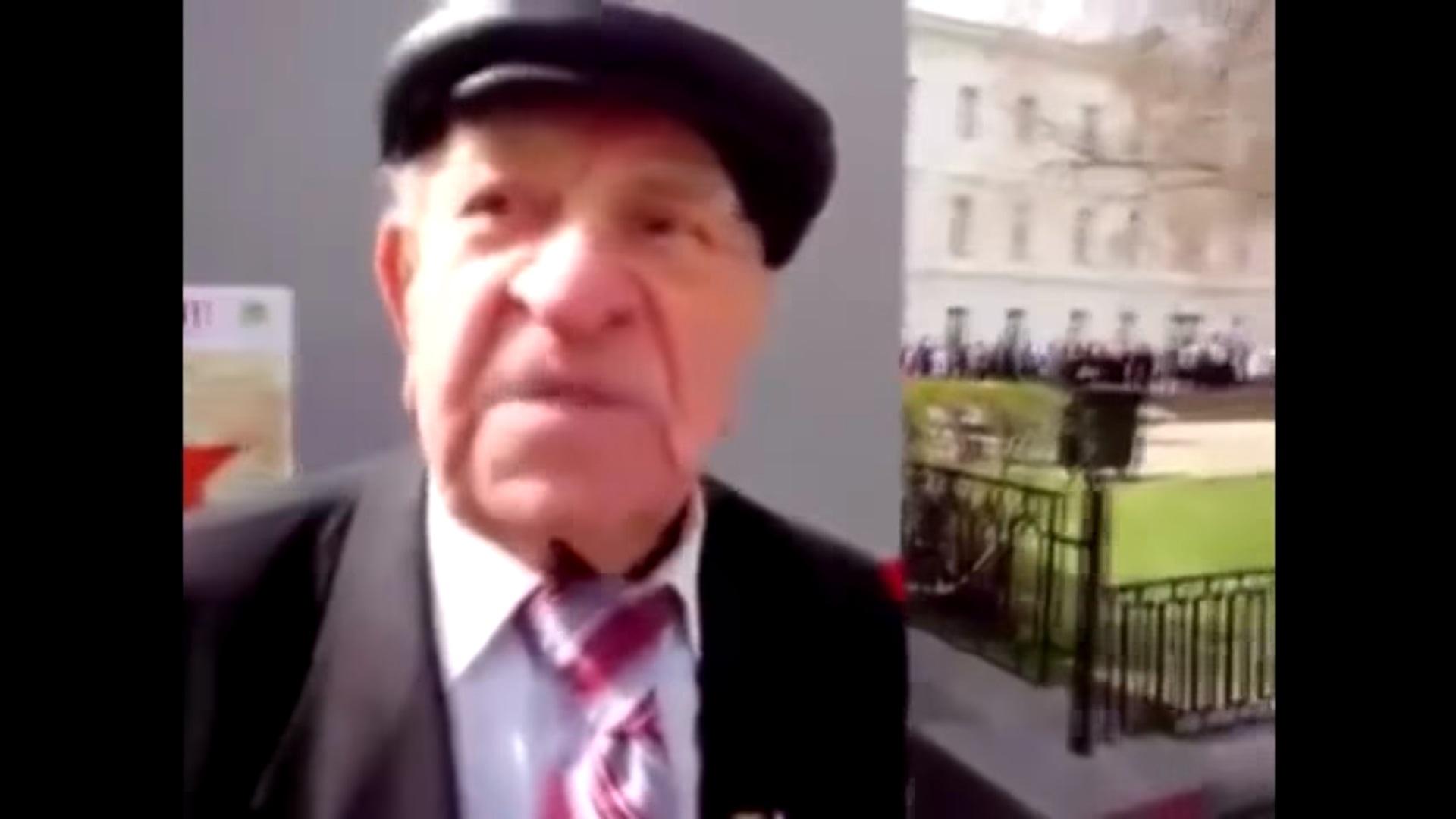 """""""Сталин - пёс, он вместе с Гитлером начал Вторую мировую!"""" - выступление российского ветерана ВОВ запрещенное в РФ (ВИДЕО)"""