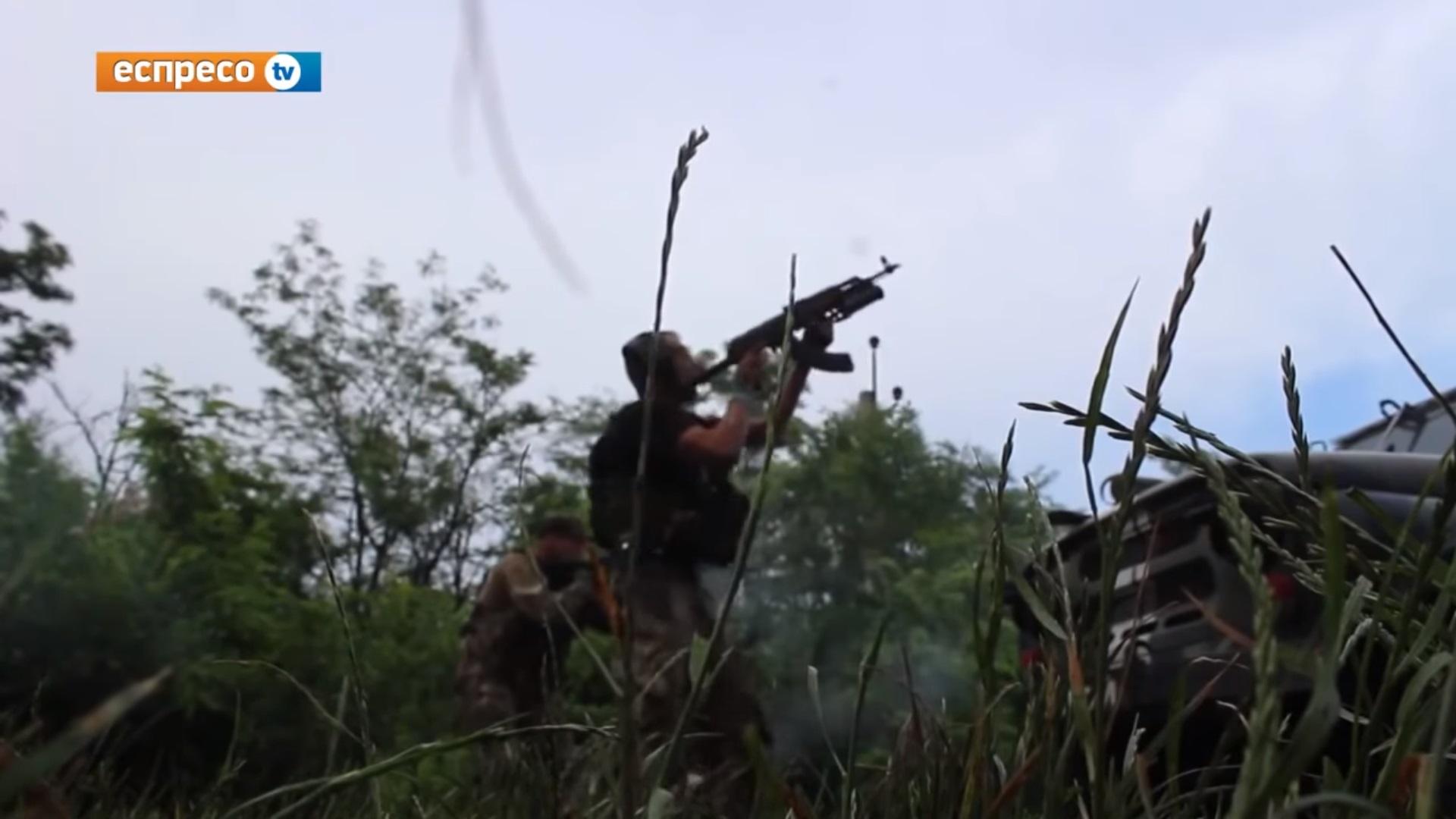 Кадры ожесточенного боя десантников 95 й ОАЕМБ с российскими террористами в Авдеевке (ВИДЕО)