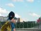 """БРАВО! """"Луганск - Украина"""" Настоящая патриотка Украины сделала селфи в оккупированном Луганске на фоне """"москальской"""" звезды"""