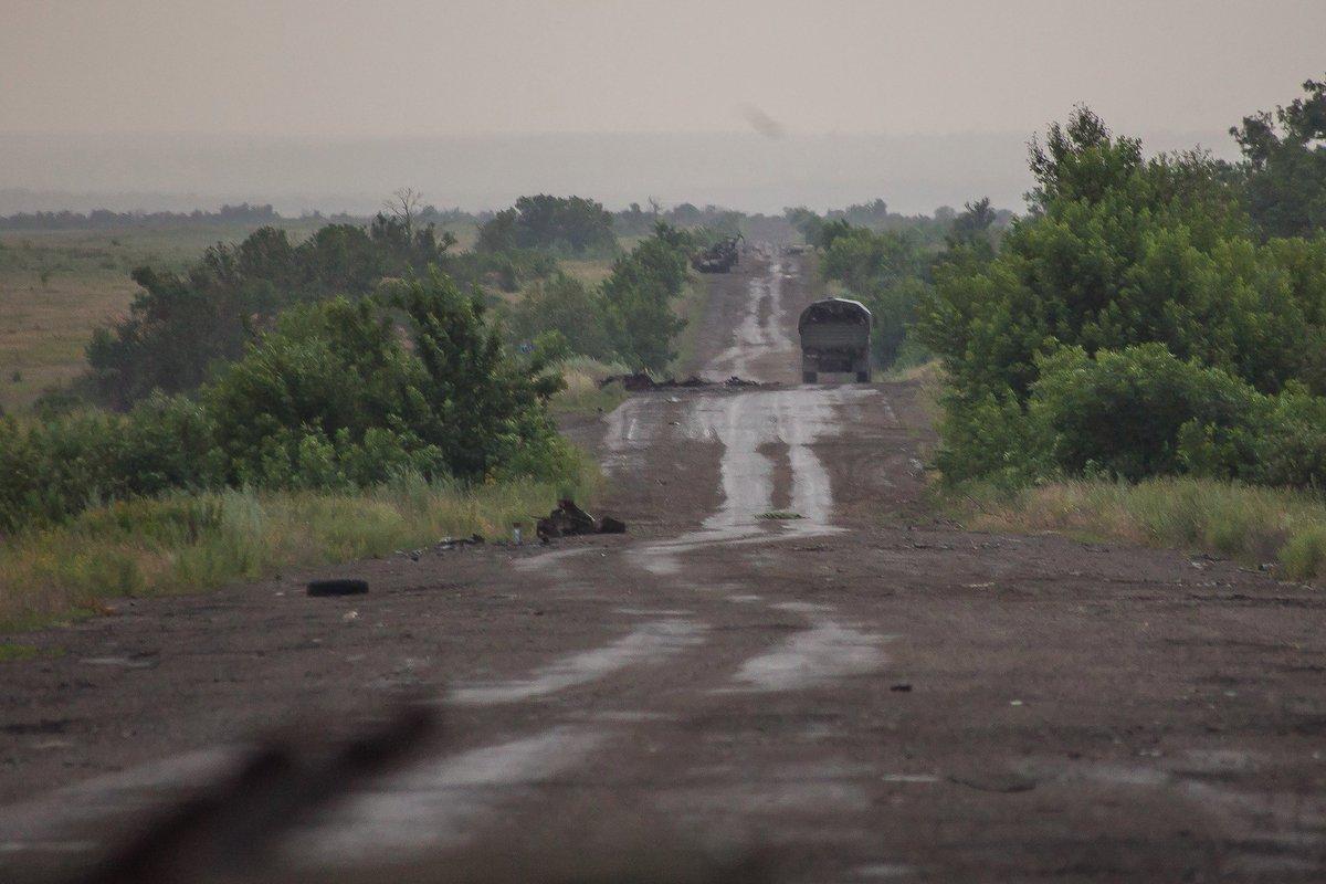 """Российская артиллерия ошибочно разгромила своих же """"ополченцев"""" на Светлодарской дуге - кровавое месиво (ВИДЕО)"""