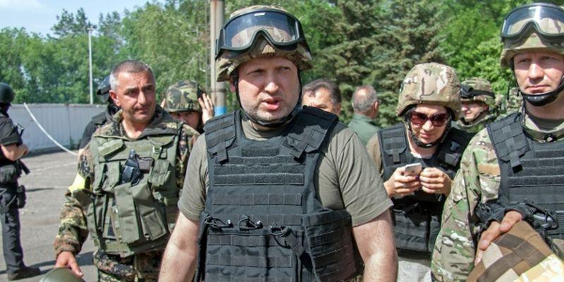 """БРАВО Турчинов! Отличное заявление в зоне АТО: """"Никаких переговоров с террористами! Стереть с лица земли и уничтожить!"""""""