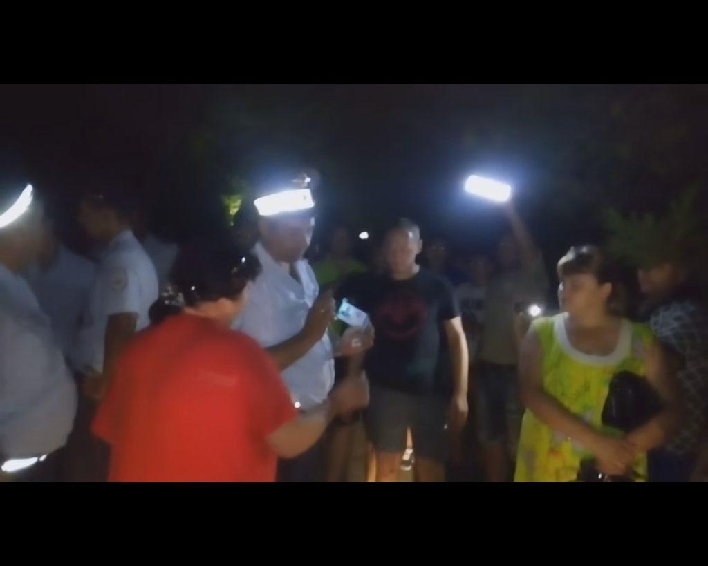 СРОЧНО! В Коктебеле массовые протесты и стычки с полицией. Крымчане поняли, что привели на полуостров оккупантов (ВИДЕО)