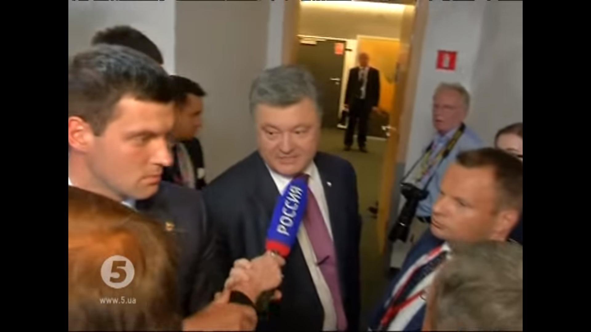 """""""Когда русские перестанут убивать Украинцев"""" - появилось видео с саммита в НАТО где Порошенко на глазах у всех поставил на место российских журналистов - все аплодировали"""