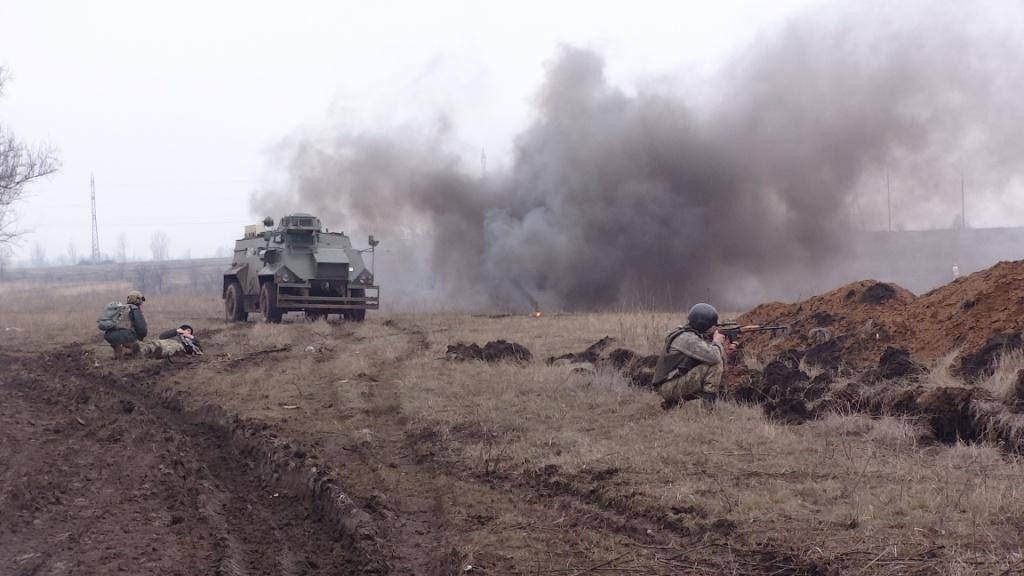 СРОЧНО! Несколько сотен боевиков штурмовали позиции ВСУ под Авдеевкой - есть жертвы! Русские с большими потерями отступили