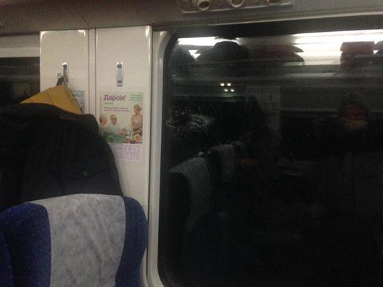 СРОЧНО! ЭКСТРЕННОЕ СООБЩЕНИЕ! На границе Харьковской и Полтавской области обстреляли поезд с АТОшниками (ФОТО)