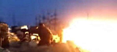 Несмотря на сильную метель, под Донецком жаркие бои