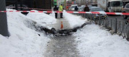В центре Киева прогремел мощный взрыв. Как минимум двое людей пострадали (ФОТО)