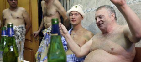 День влюбленных по кремлевским обычаям! Жириновского застукали с мальчиками (ВИДЕО)