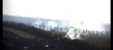 ВСУ выложили кадры, как российские боевики бомбят Водяное (ВИДЕО)