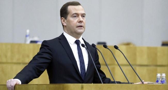 Медведев публично рассказал, почему Россия напала на Украину