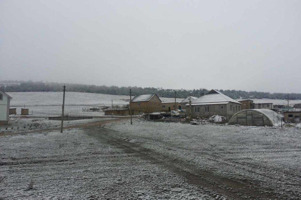 В Крыму выпал снег! Сильный шторм снова разрушил Керченский мост (ФОТО+ВИДЕО)