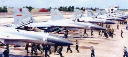 ВНИМАНИЕ! Китай привел в боевую готовность свою авиацию на границе с РФ и Северной Кореей