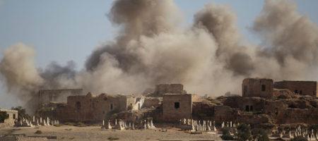 ЭКСТРЕННОЕ СООБЩЕНИЕ! США разбомбили склад хим оружия в Сирии - сотни погибших, сообщает Генштаб Асада
