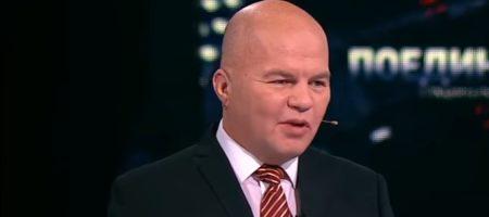 """Известного украинского политолога в прямом эфире рашисткого политического шоу обозвали: """"лысым х**м!"""" (ВИДЕО)"""