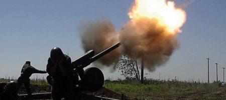 СРОЧНО! Боевики бьют по позициям сил АТО из тяжелой артиллерии