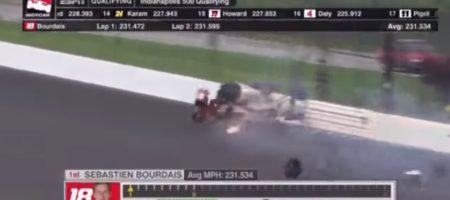ЖУТКАЯ АВАРИЯ! Известный французский гонщик разбился на скорости 370 км/час (ВИДЕО)