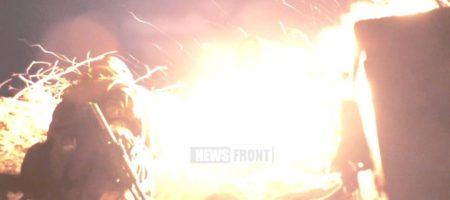 """Подробности уничтожения крупной огневой точки """"ДНР"""" в районе Светлодарской дуги"""