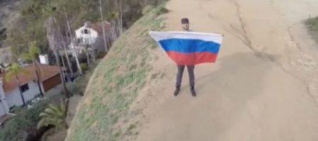 КАРМИЩЕ! Во время съёмок клипа, размахивая флагом России упал с большой высоты Тимати, он госпитализирован