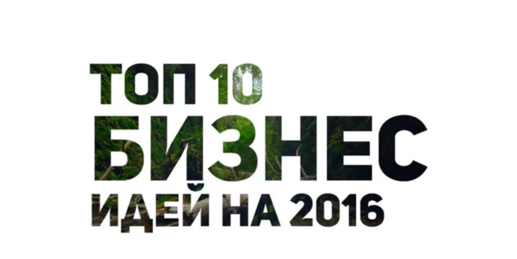 Бизнес идеи 2017 года - подборка ТОП 10