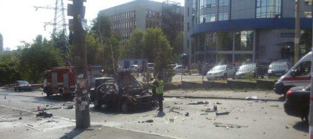 Теракт в Киеве: подорвали авто, в результате погиб представитель Минобороны (ВИДЕО ВЗРЫВА)
