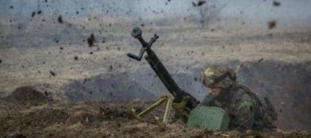 Артиллерия ВСУ накрыла блокпост боевиков в Луганской области. Из-за подрыва БК множество погибших (ВИДЕО)
