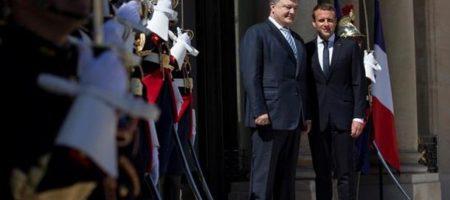 """На России запретили заблокировали доступ к видео встречи Порошенко и Макрона, где президент Франции смеется над Путиным и """"его"""" Анной Ярославной (ВИДЕО+СКРИНЫ)"""
