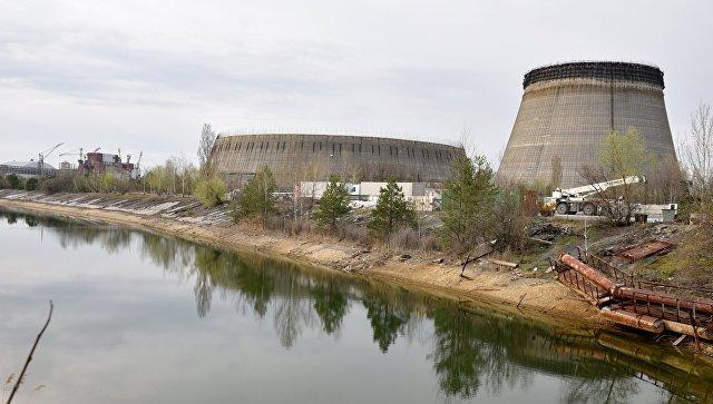 ЧП на Чернобыльской АЭС - задымился третий энергоблок