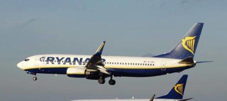 Лоукостер Ryanair офіційно відмовився від виходу на український ринок