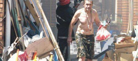В центре Винници пожарные никак не могут потушить пожар (ФОТО+ВИДЕО)