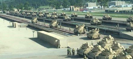 В Кремле паникуют - США проводит массовую переброску военной техники и готовятся нанести удар