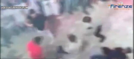 Шокирующие кадры, как трое россиян зверски избили до смерти итальянского туриста в Испании (ВИДЕО)
