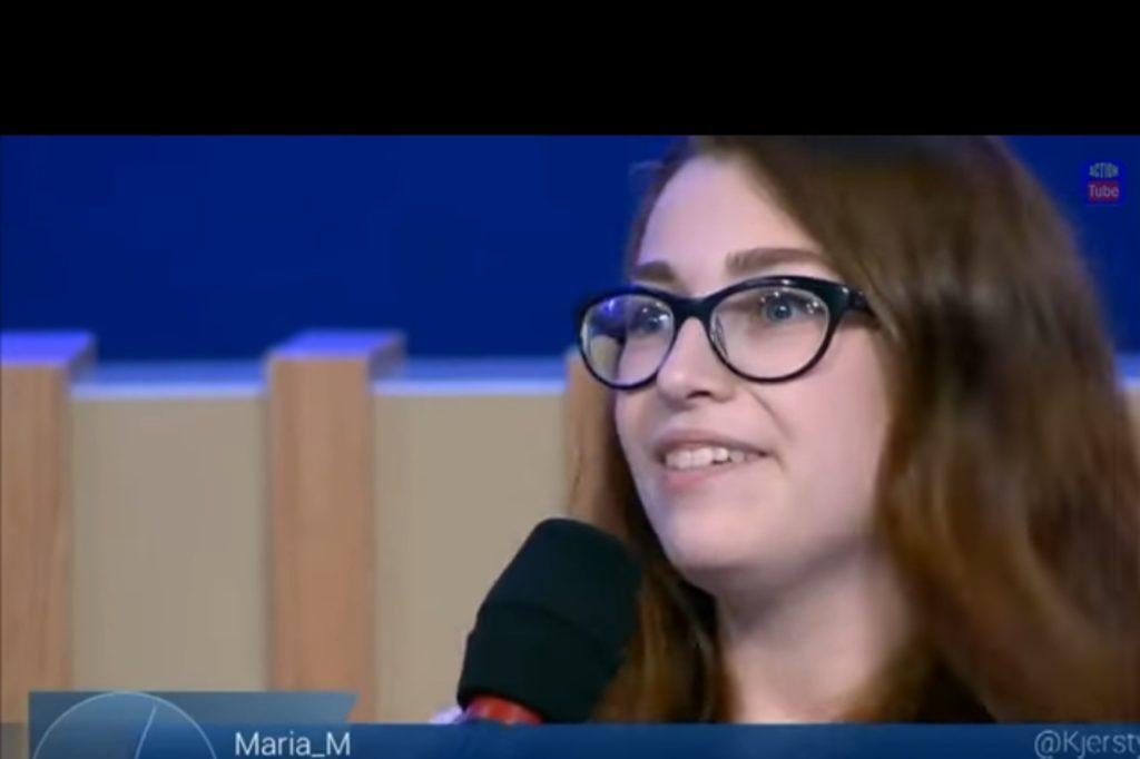 Молодая россиянка поставила всю студию российских пропагандистов в шок, своим высказыванием о российских санкциях (ВИДЕО)