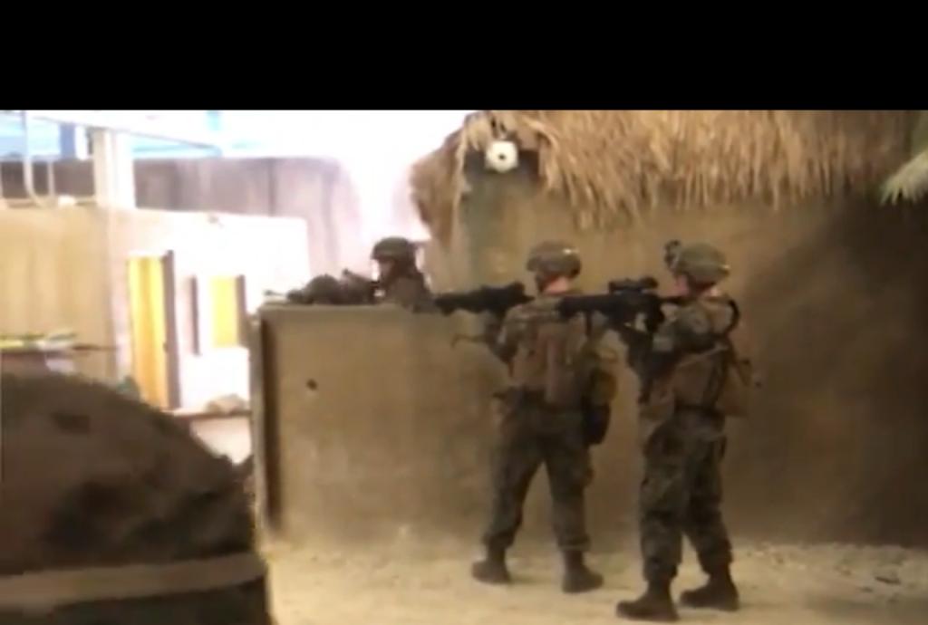 """Учения американских солдат в """"российской"""" деревне, против россиян сильно напугали россиян. Пропагандисты уже испугано молчат (ВИДЕО)"""